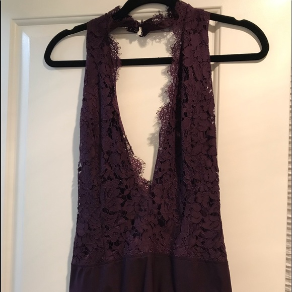 Tops - Purple Lace Bodysuit